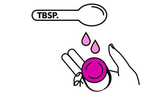 Mettre de l'eau sur l'éponge contraceptive